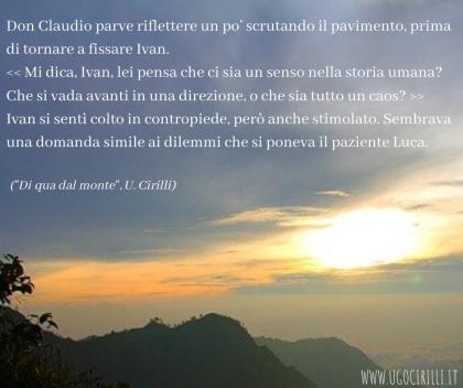 """Presentazione di: """"Di qua dal monte"""" di Ugo Cirilli – Notting Hill ..."""
